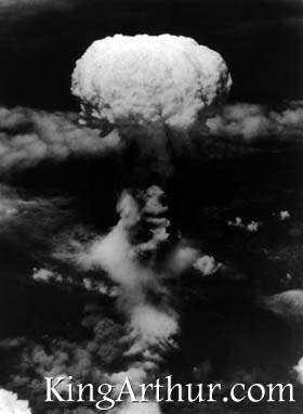 Nagasaki Bomb Explodes
