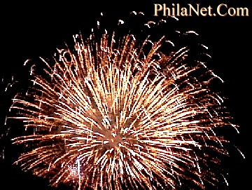 Fourth Of July Fireworks at PhilaNet.Com