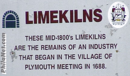 About the Limekiln's of Plymouth Meeting, PA